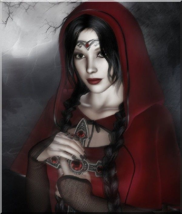 Résultat d'images pour images jolie femme gothique