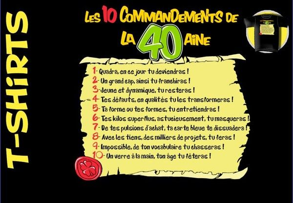 Texte Anniversaire 40 Ans Humour Gratuit