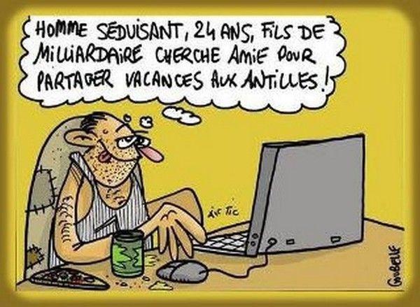 humour rencontre internet Sainte-Geneviève-des-Bois