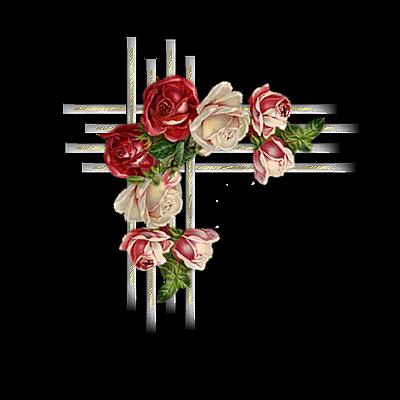 coins fleurs